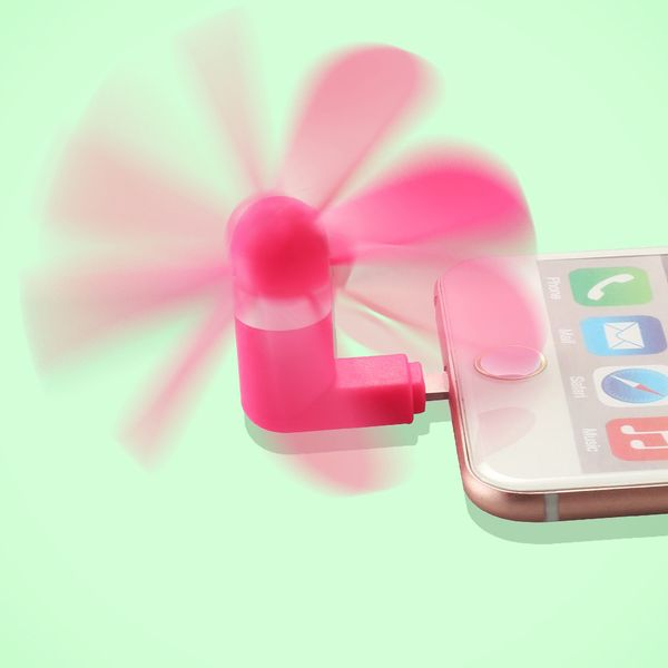 Pandawell 8-pin Lighting Mobile Phone Fan