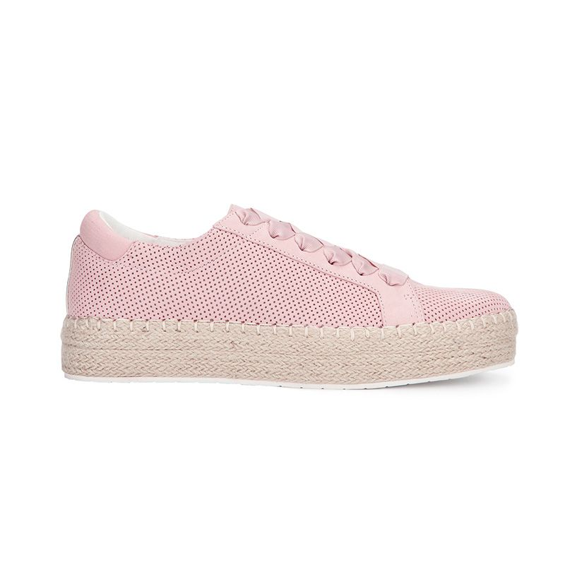 Kamspadrille Flatform Leather Sneaker
