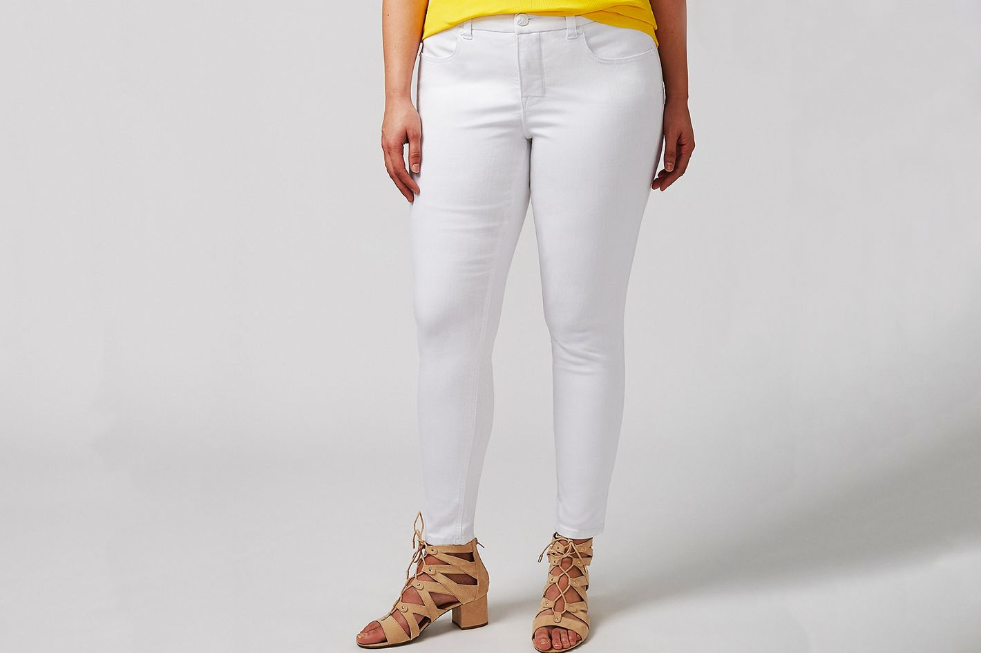 Melissa McCarthy Seven7 Pencil Ankle Jean