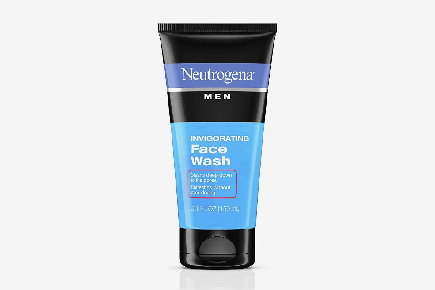 Neutrogena Mens Invigorating Daily Foaming Gel Face Wash