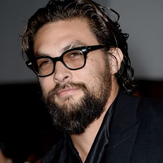 Actor Jason Momoa arrives at the premiere of Summit Entertainment's