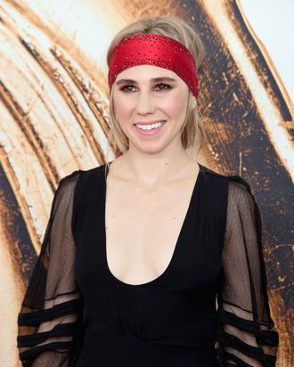 Zosia Mamet at the CFDA Awards.