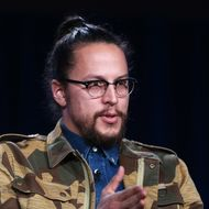 Executive Producer/Director Cary Fukunaga speaks onstage during the 'True Detective' panel discussion at the HBO portion of the 2014  Winter Television Critics Association tour at the Langham Hotel on January 9, 2014 in Pasadena, California.