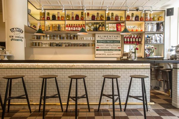 The Caffe Dante Reboot Looks Like a Charming Aperitivo Bar