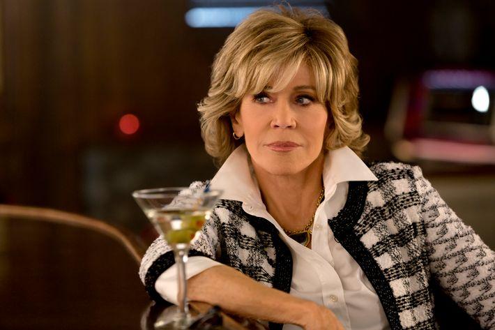Jane Fonda as Grace.