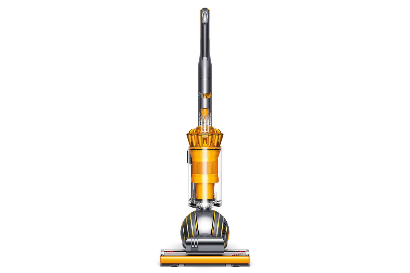 Dyson Ball Multifloor 2 Upright Vacuum in Iron/Satin Yellow