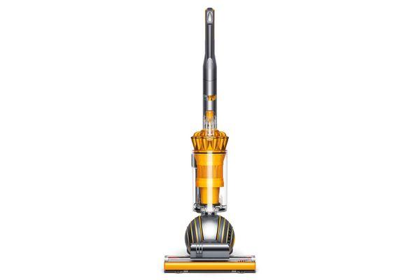 Dyson Ball Multifloor 2 Upright Vacuum in Iron/Satin Yellow
