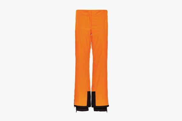 Prada Technical Fabric Ski Trousers Lr-Mx003