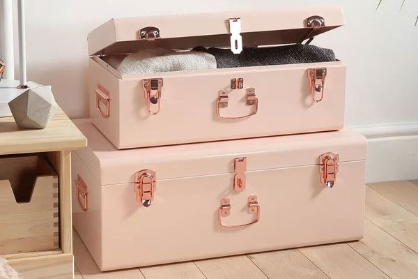 Beautify 2-Piece Storage Trunk Set