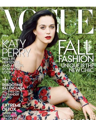 Katy Perry for Vogue.