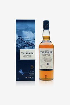 Talisker 10-Year-Old Single-Malt Scotch Whisky, 70cl