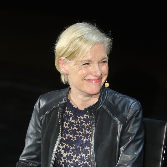 Cecile Richards at the 2016 Women in the World Summit. Photo: Jemal Countess/Getty Images