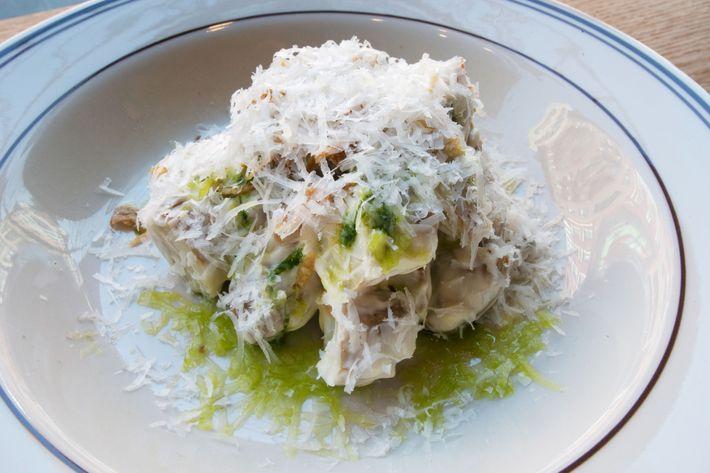 Fingerling-potato salad.
