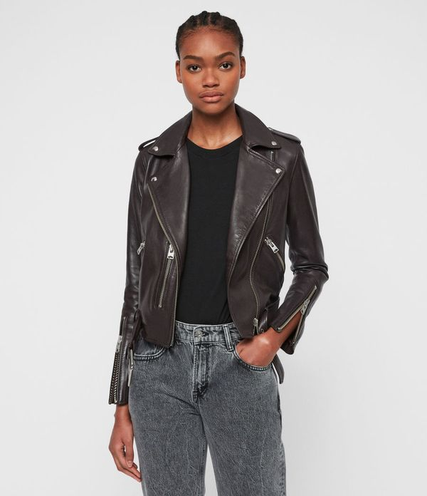 All Saints Balfern Leather Biker Jacket