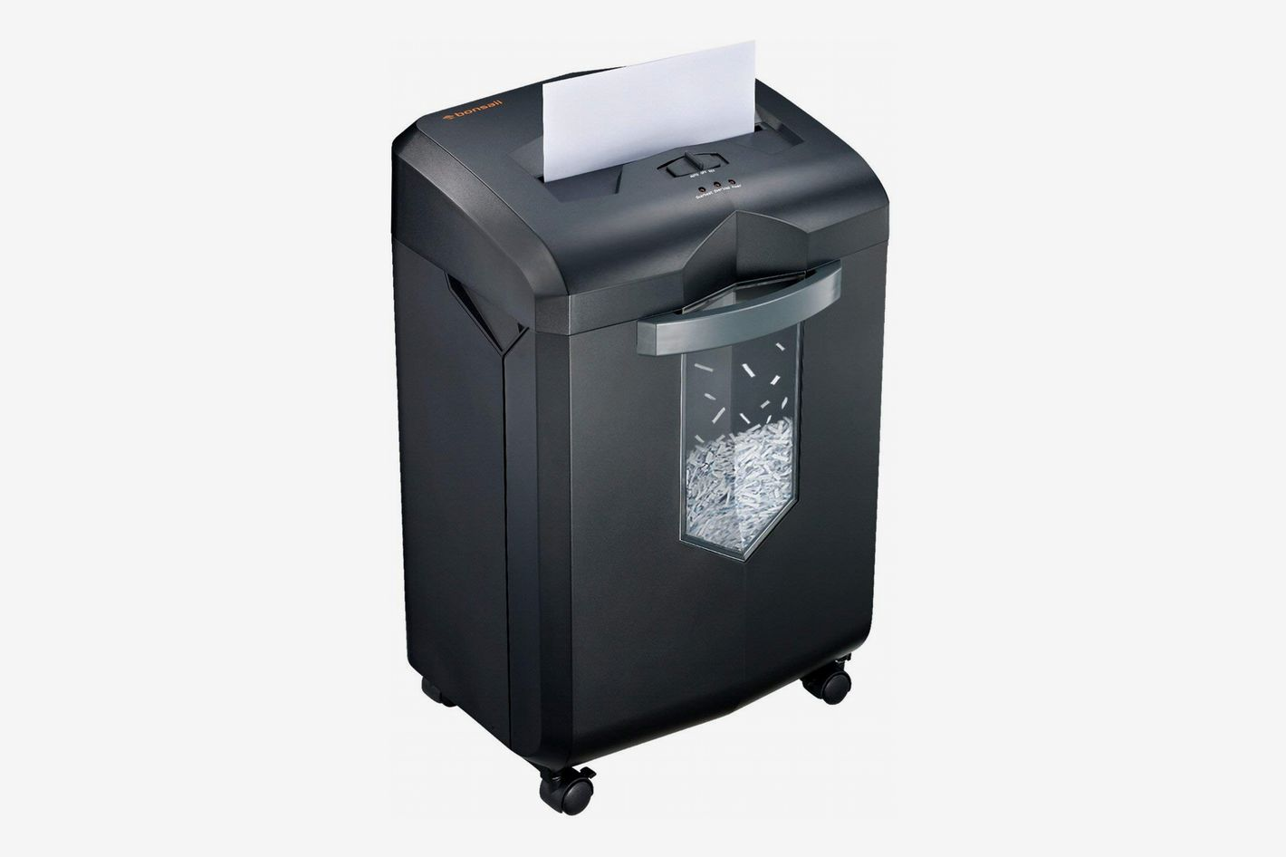 Bonsaii EverShred 18-Sheet Cross-Cut Shredder with 6 Gallon Pullout Basket, 60 Minutes Running Time