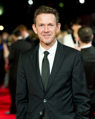 LONDON, ENGLAND - NOVEMBER 28: John Logan attends the royal film performance of Martin Scorsese's 'Hugo in 3D' at the Odeon Leicester Square on November 28, 2011 in London, England.(Photo by Ian Gavan/Getty Images)
