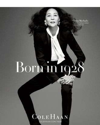 China Machado's Cole Haan campaign.