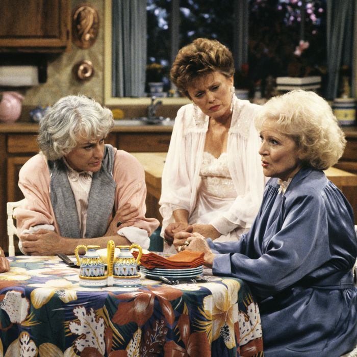 Sophia, Dorothy, Blanche, and Rose didn't wear blackface, but The Golden Girls still made plenty of racist jokes.