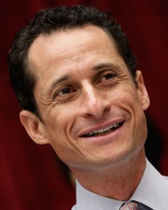 WASHINGTON, DC - JUNE 02: Rep. Anthony Weiner (D-NY) attends a House markup on Capitol Hill June 2, 2011 in Washington, DC. Weiner declined to comment further this morning on the recent incident involving his Twitter account and a photograph that was sent from that account. (Photo by Win McNamee/Getty Images)