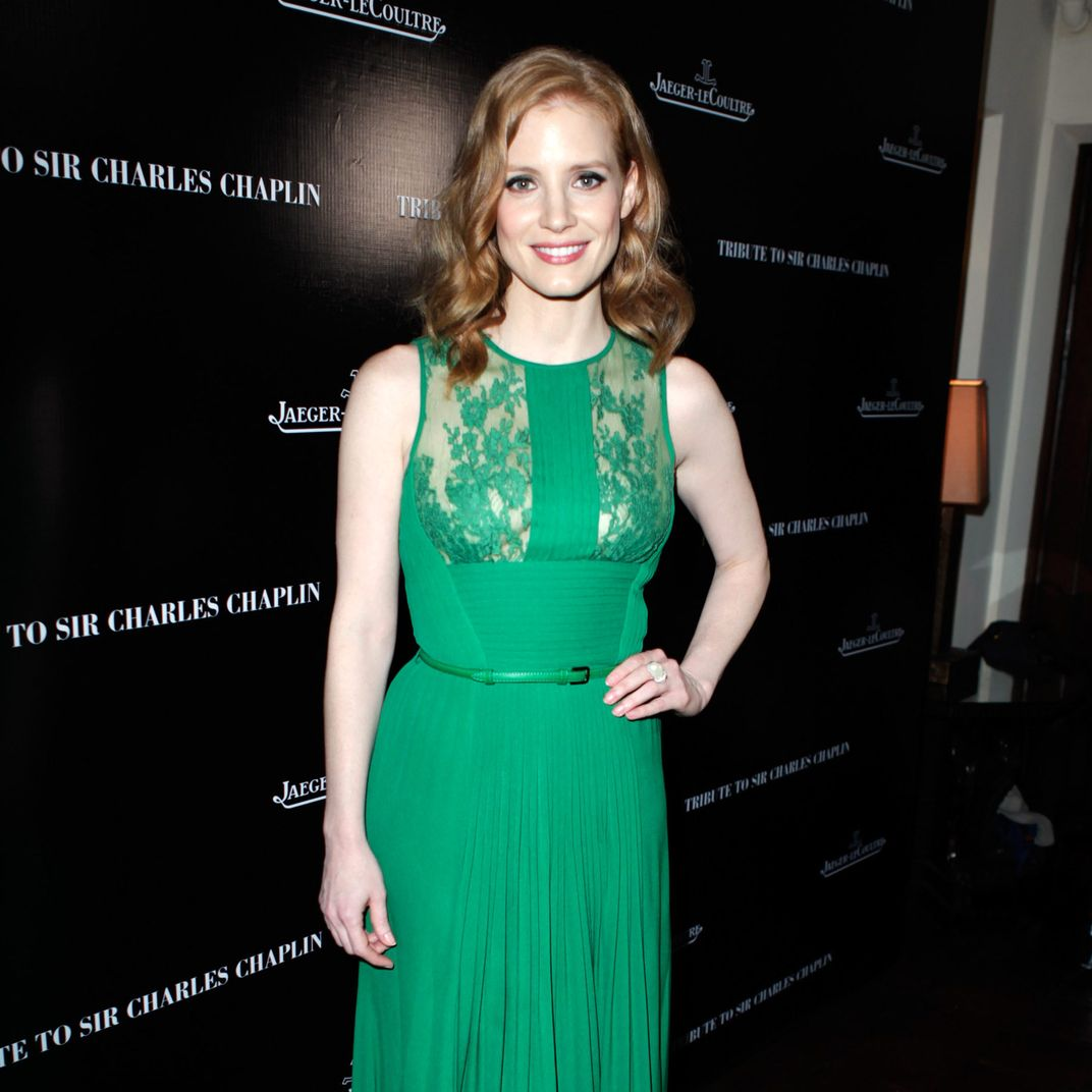 The Jessica Chastain Look Book