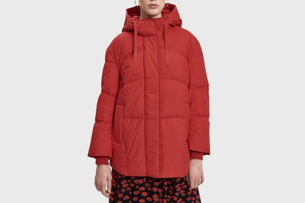 Just Female Puffy Down Jacket