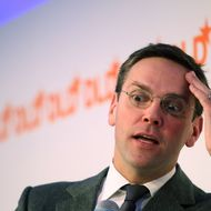 MUNICH, GERMANY - JANUARY 25:  James Murdoch, son of Rupert Murdoch and Chairman and Chief Executive of News Corporation, Europe and Asia, looks on during the Digital Life Design (DLD) conference at HVB Forum on January 25, 2011 in Munich, Germany. DLD brings together global leaders and creators from the digital world.  (Photo by Miguel Villagran/Getty Images)