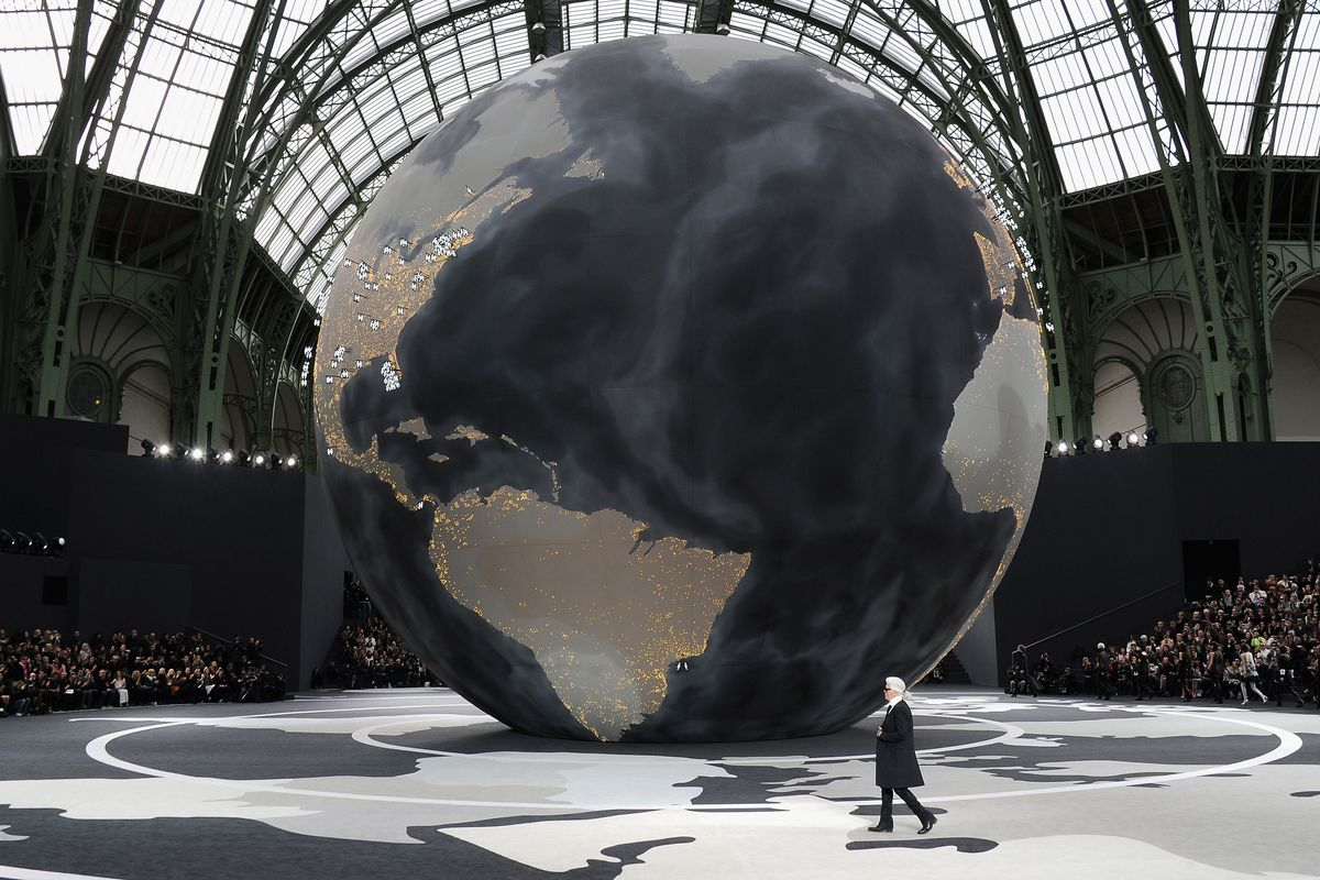 chanel globalisation Kiki georgiou reports on the chanel show  spectacle aside, this was one of the  most pared back chanel  the globalisation for fashion.