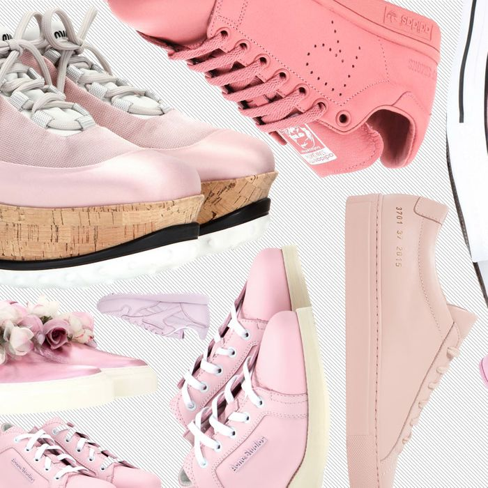 Pink Sneakers Are the New White Sneakers 5d65410de24d
