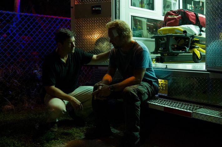 Kyle Chandler as John, Norbert Leo Butz as Kevin.