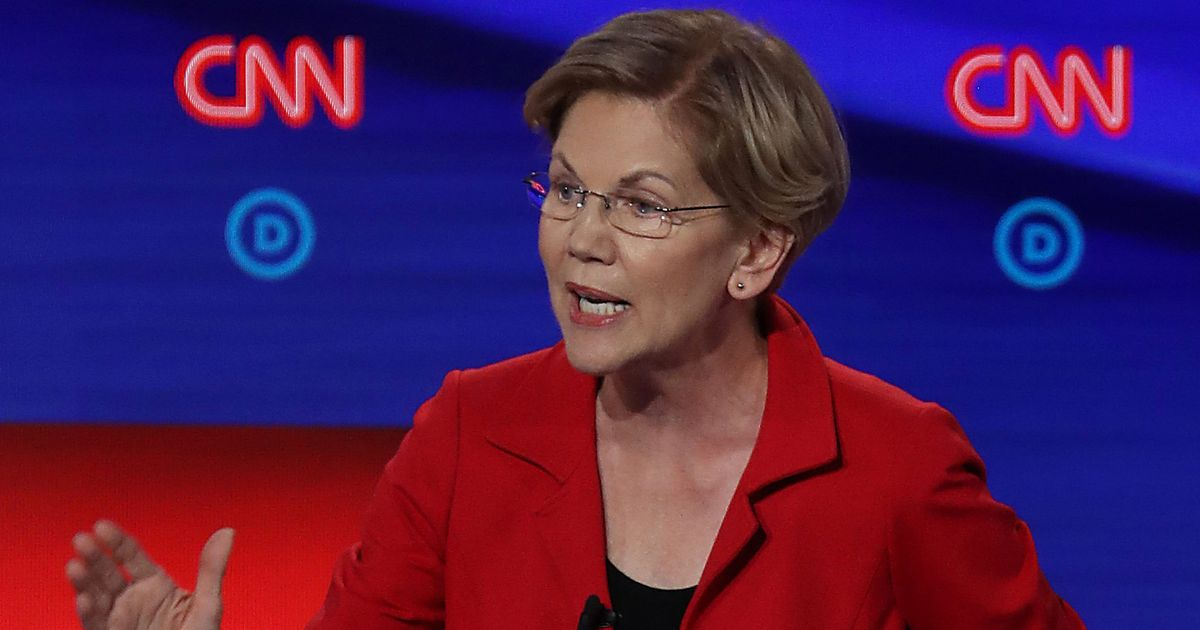 Will Warren Have a Bull's-eye on Her Back in Tonight's Debate?