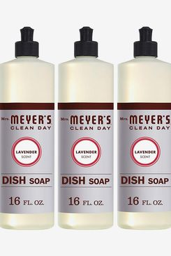 Mrs. Meyer's Clean day dish Soap, Lavender - 3 Pack