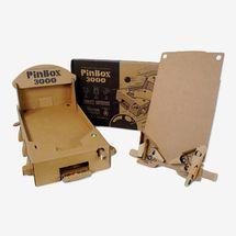 Pinbox3000 Cardboard Pinball Kit