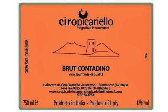 brut label