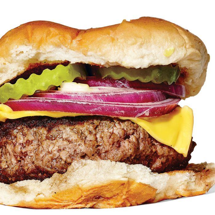 The iconic Melon's burger.