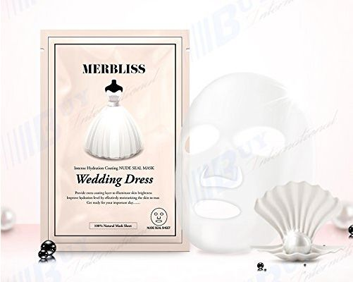 Merbliss Wedding Dress Intense Hydration Day Mask (5 Pack)