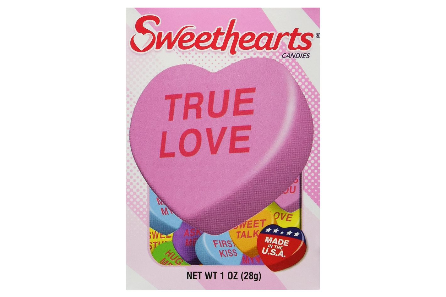 Sweethearts Conversation Candy, 4 1-Ounce Boxes
