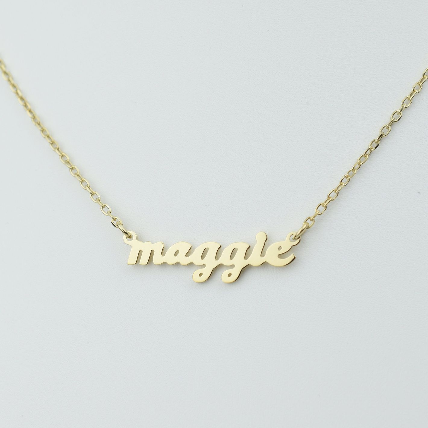 Etsy Custom Name Necklace