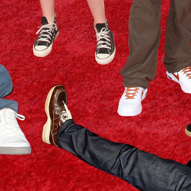 db6c180a34fc 50 Times Celebrities Have Worn Sneakers on the Red Carpet