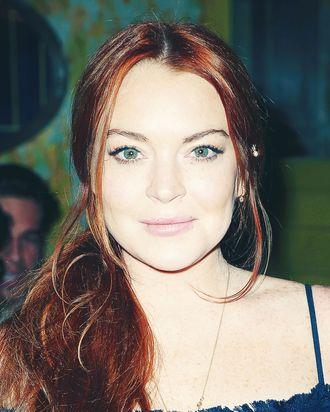 Lindsay Lohan, makeup mogul.