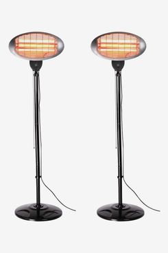 Set of 2 Firefly Freestanding Patio Heaters