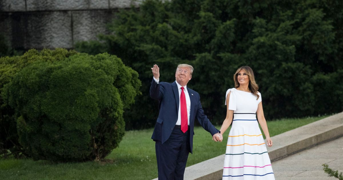 What Is Melania Trump's Dress Trying to Tell Us?