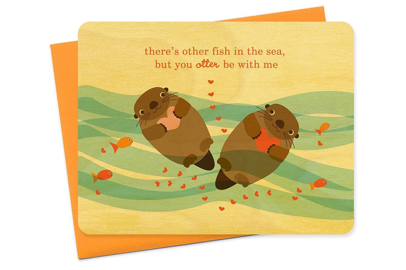 You Otter Be With Me Card