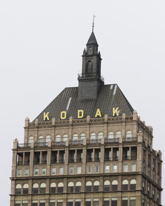 Kodak World Headquarters stands January 19, 2011 in Rochester, New York.