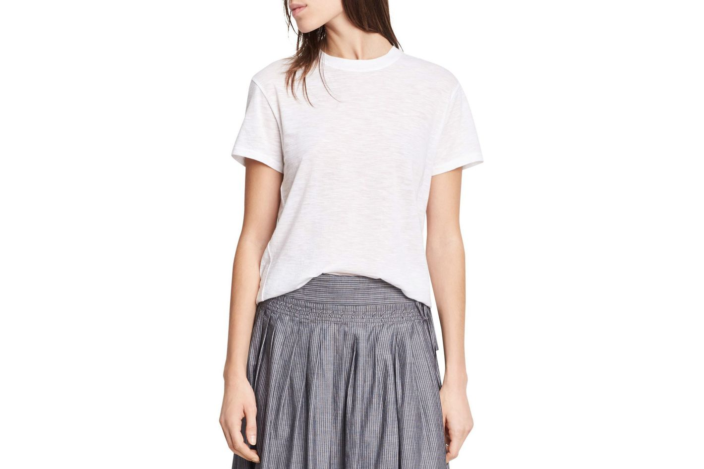Vince Short-Sleeve Swing Tee