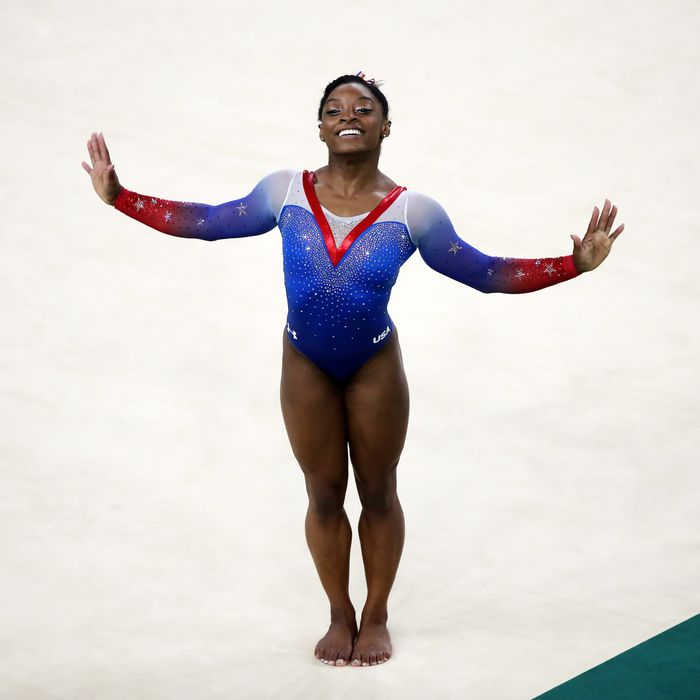 Simone Biles is the best gymnast of all time.