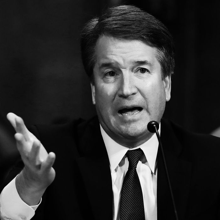 Supreme Court nominee Brett Kavanaugh.