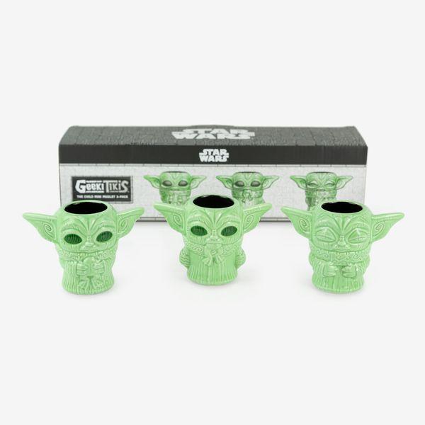 Star Wars Mandalorian Geeki Tikis The Child Mini Muglets, Set of 3