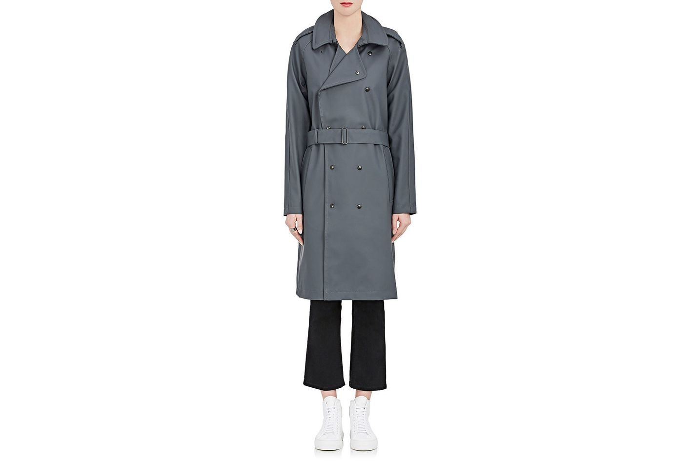 Stutterheim Raincoats Ture Trench Raincoat