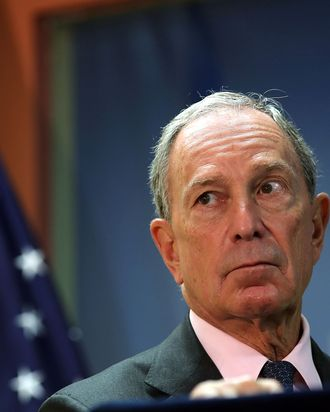 New York City Mayor Michael Bloomberg speaks to the media at the opening of the Workforce1 Veterans Career center on July 31, 2012 in New York City. The center will offer area veterans assistance in their job search, help with resumes and classes on how to perfect the interview process. According to the Bureau of Labor Statistics, the unemployment rate for all veterans in June was 7.4 percent.