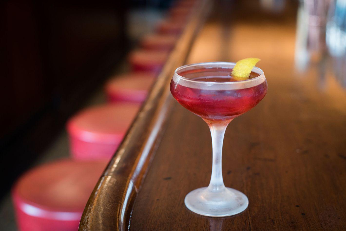 Long Island Bar's Boulevardier.